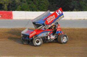Winged Sprint Cars